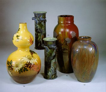 Some Brannam pots